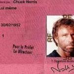 El carnet de Chuck Norris