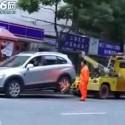 Remolcando en China