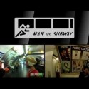El hombre contra el metro