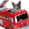 El gato bombero