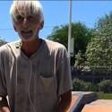 El más anciano del skate park