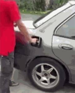 El encendedor del coche