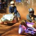 El rally de los coches de juguete