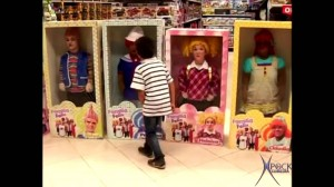 Unos muñecos muy reales
