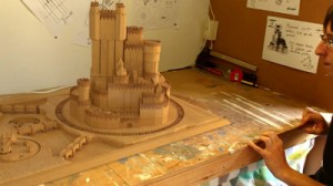 """El castillo de """"Juego de Tronos"""""""
