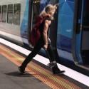 Thor coge el tren
