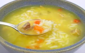 ¡Acábate la sopa!