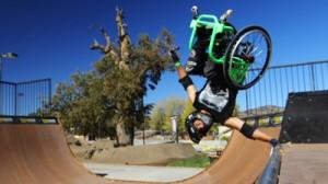 Adrenalina en silla de ruedas