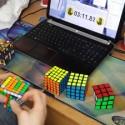 Maestros del cubo de Rubik
