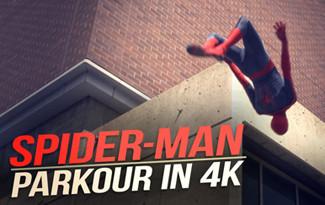 Parkour con Spiderman - tontaKos.com