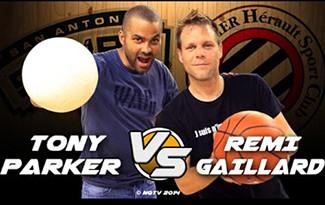 Tony Parker vs. Remi Gaillard - tontaKos.com