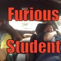 La conductora novata
